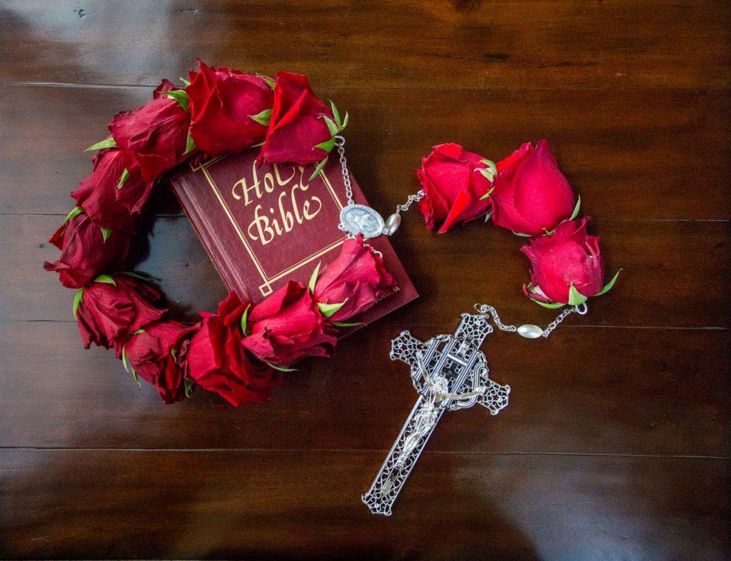 Fresh rosary funeral memorial tribute rosaries order your rosary izmirmasajfo